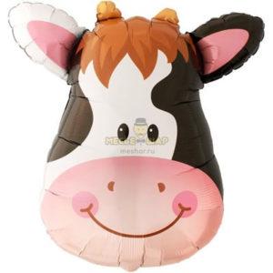 Голова коровы шар