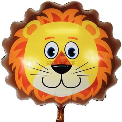 Голова льва шар