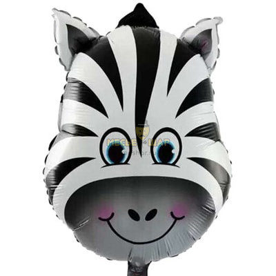 Голова зебры шар