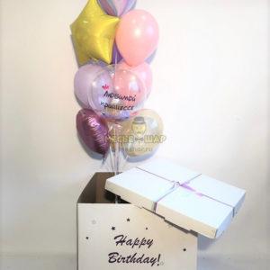 Коробка №5 с шарами