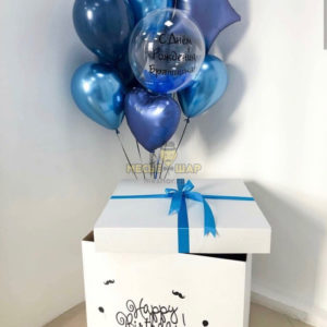 Коробка №6 с шарами
