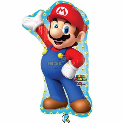 Марио шар 90см