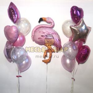 Нежный фламинго