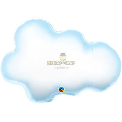Шар Белоголубое облако (90см)