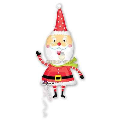 Забавный Санта, 105 см
