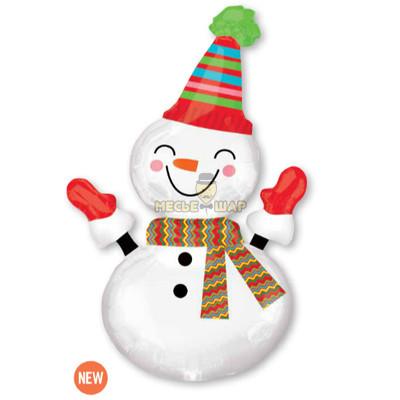 Снеговик улыбчивый