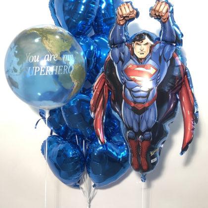 Супермен на шаре!