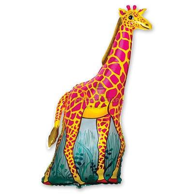 Жираф шар 95см