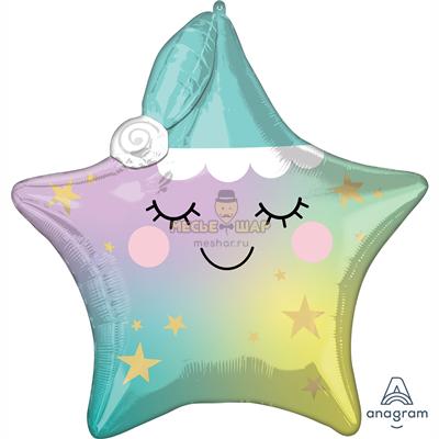 Шар Звезда большая (90см)