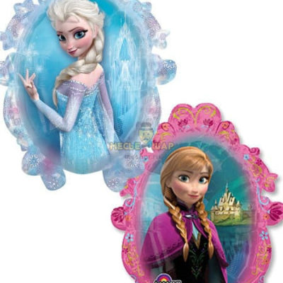 Зеркало Анна и Эльза