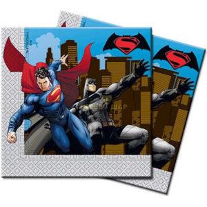 Салфетка Бэтмен Vs Супермен 33см 20шт/Р