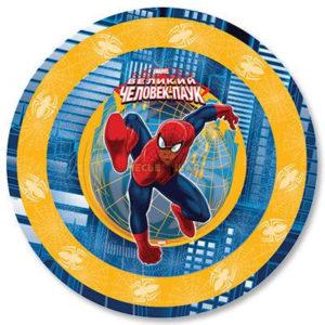 Тарелка бум Marvel Челов-Паук 23см 6шт/G