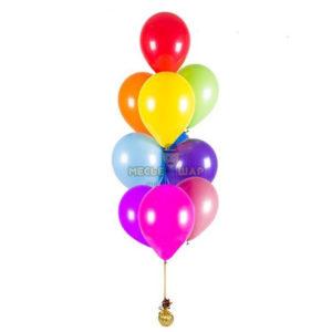 Фонтан 10 шаров на выпускной
