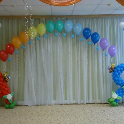Пакет 28 из шаров на выпускной