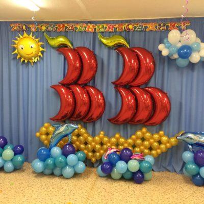 Пакет 31 из шаров на выпускной