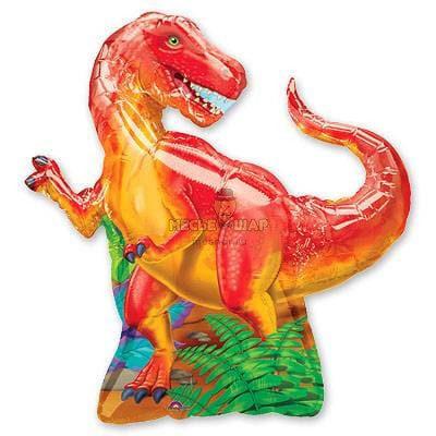 Динозавр красный шар