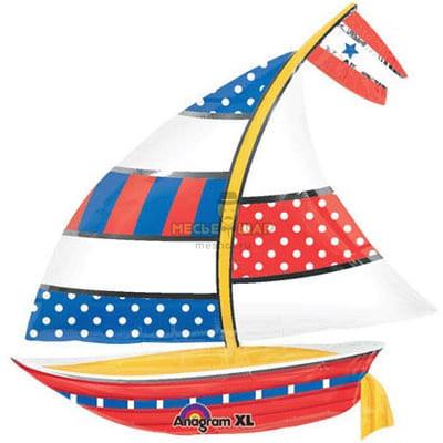 Яхта шарик