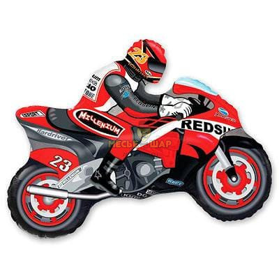 Мотоциклист шар