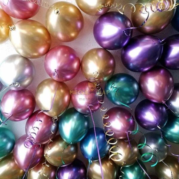 30 шаров хром ассорти