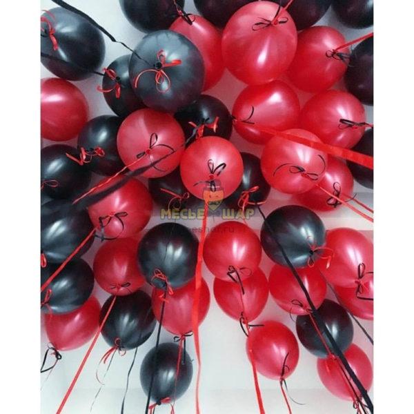 30 черных и красных шаров