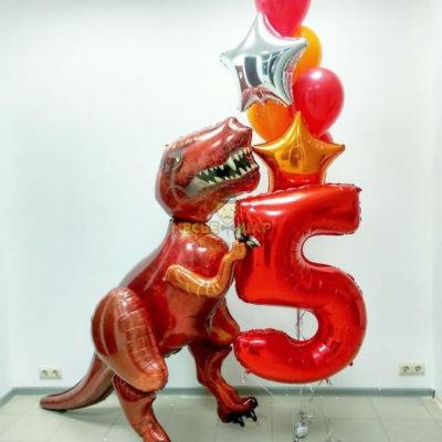 Большой Динозавр рулит
