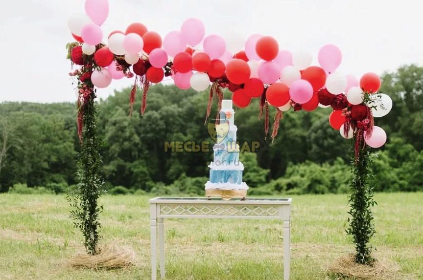 Нюансы украшения свадебного торжества цветами