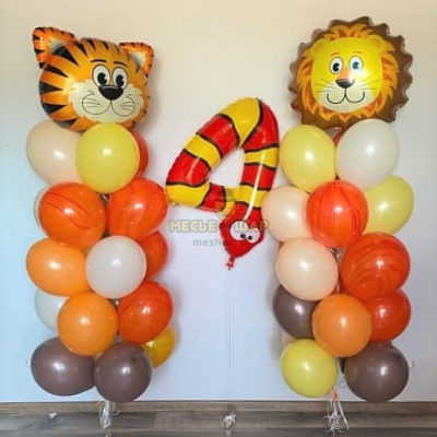 Сет лев и тигр