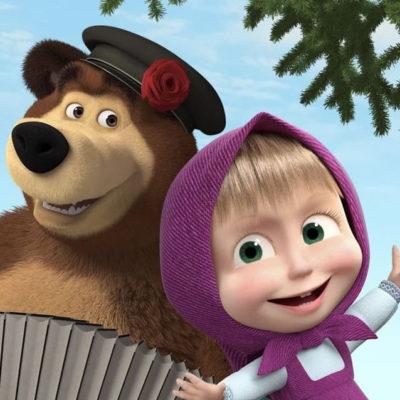Шары Маша и медведь