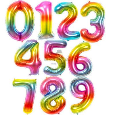 Радужные цифры