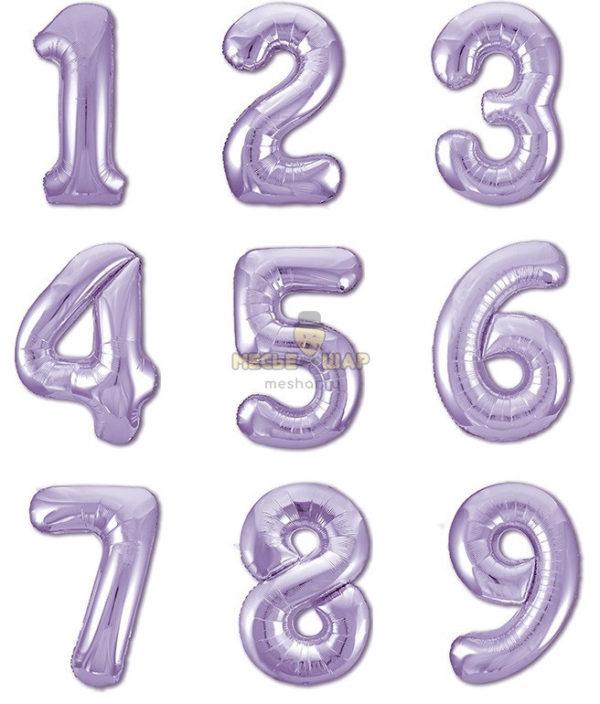 Цифра Лиловая