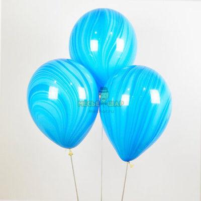 Агат синий