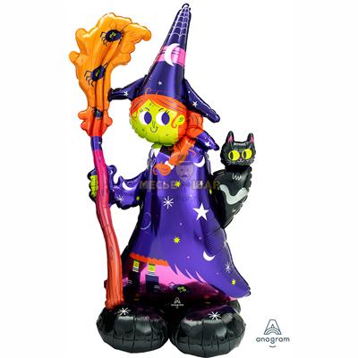 Шар Ходячка Ведьма (139см)
