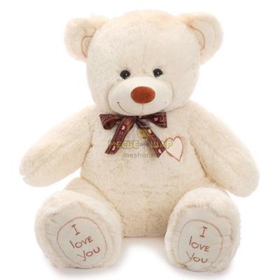 Мягкая игрушка «Медведь Феликс» 90 см (молочный)
