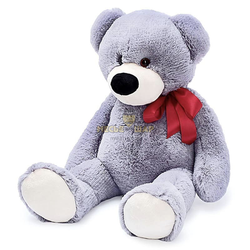 Мягкая игрушка «Медведь Марк» цвет серый, 80 см