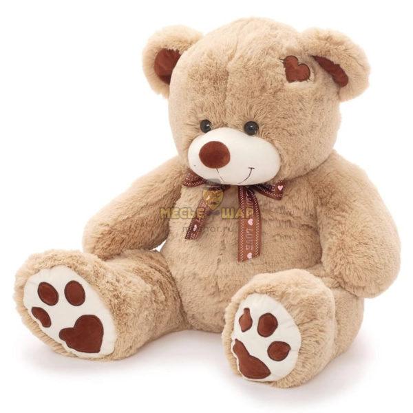 Мягкая игрушка «Медведь Тони» кофейный 90 см