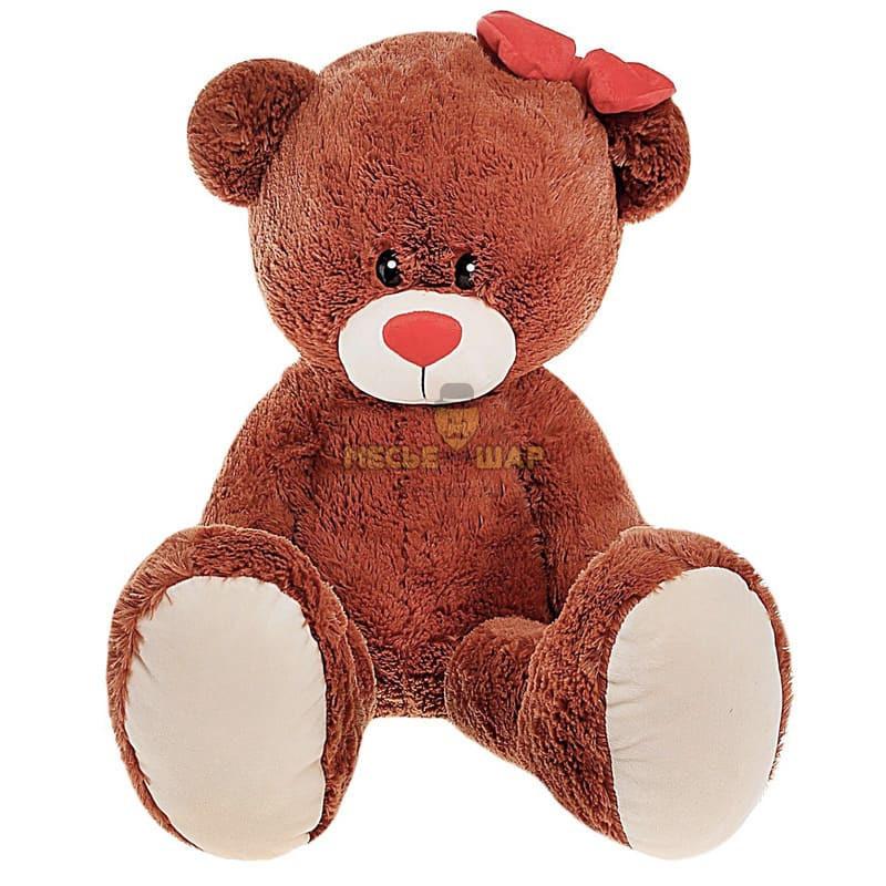 Мягкая игрушка «Мишка Лапа», цвет шоколадный, 103 см