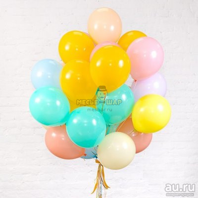 """Облако из шариков """"Пастель"""""""