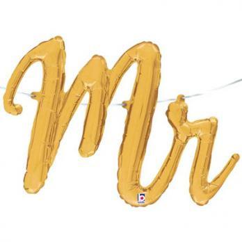 """Шар буквы фольга """"MR"""""""