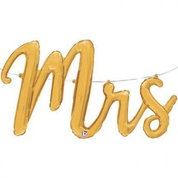 """Шар буквы фольга """"MRS"""""""