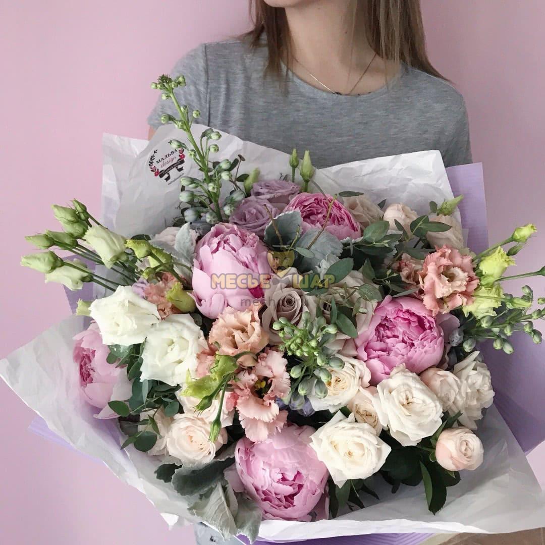Авторский букет цветов №1