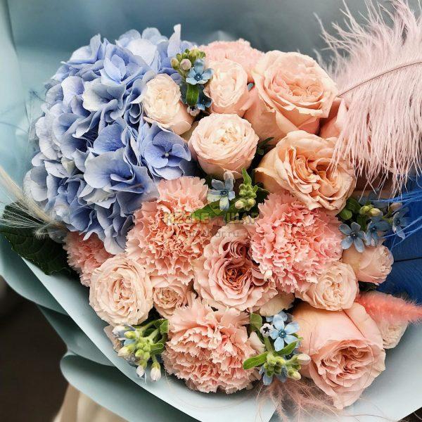 Авторский букет цветов №2