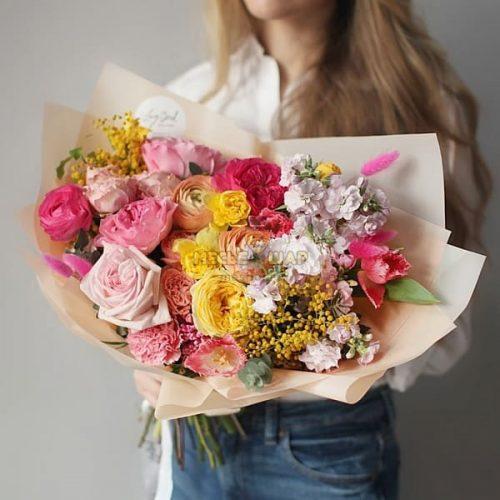 Авторский букет цветов №3