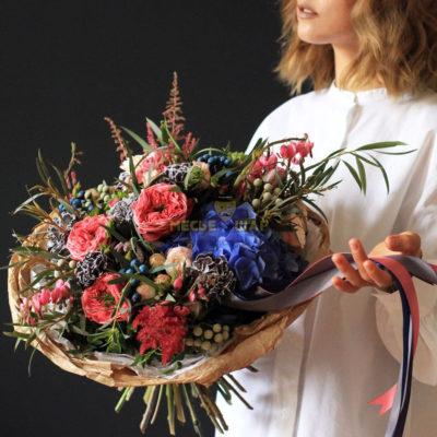 Авторский букет цветов №4