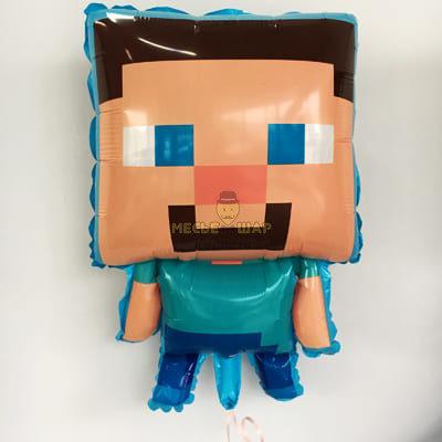 """Шар """"Стив Minecraft пиксели"""""""