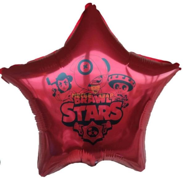 Шар звезда Brawl Stars 45см