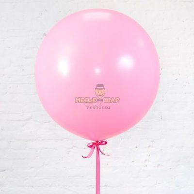 "Шар Гигант ""Агат розовый"" 80 см"