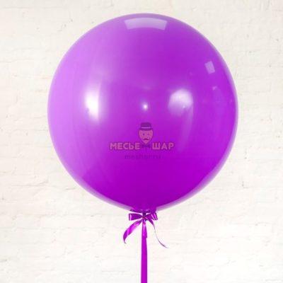 "Шар Гигант ""Агат фиолетовый"" 80 см"