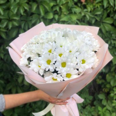 Букет из 9 хризантем