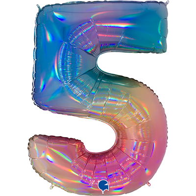 Шар цифра 5