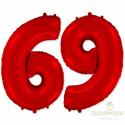 Шар цифра 6 и 9